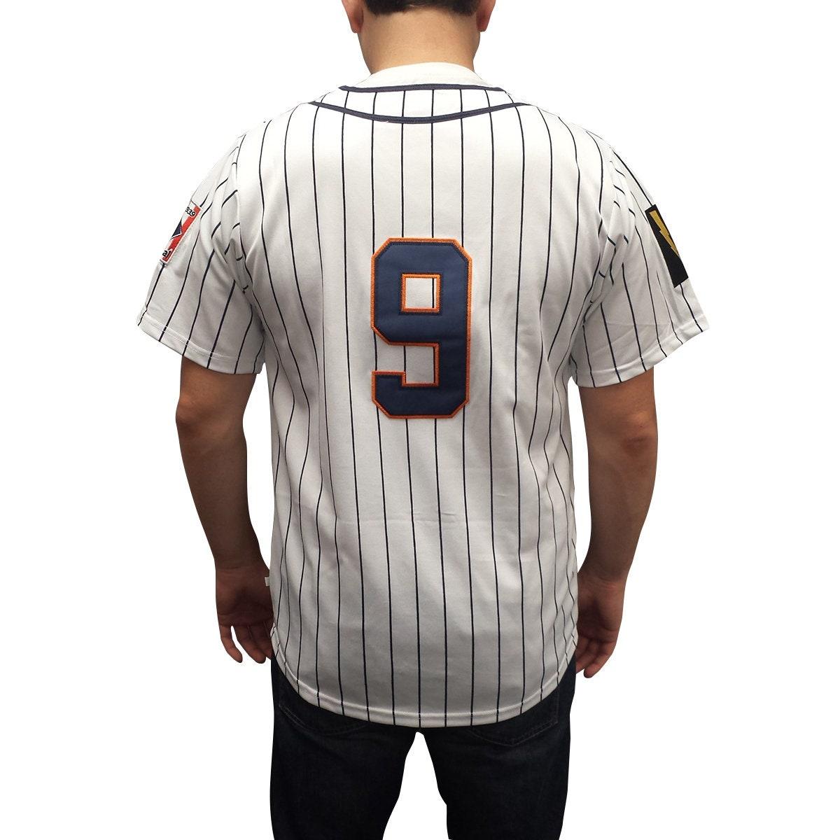 614da78b Roy Hobbs #9 Knights Baseball Jersey New York NY Costume Movie Shirt Gift  Halloween 80s Uniform