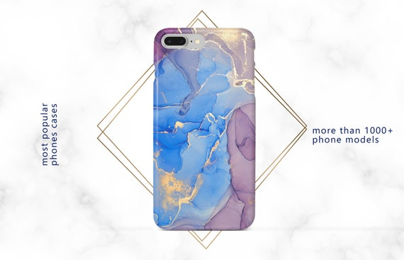 Paint Stains Abstract Google Pixel 3a Case Lg G6 Case OnePlus 6t Blue Samsung Galaxy S10 Cell Case M10 iPhone X Case Moto G6 Design Case