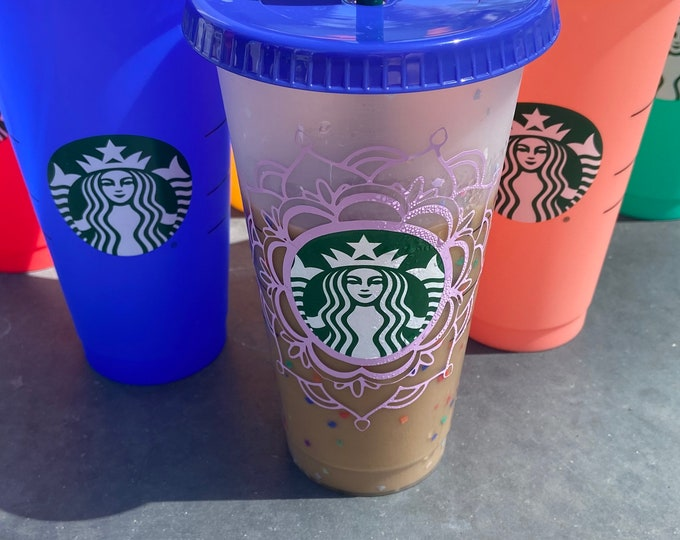 Featured listing image: Limited addition custom color changing Starbucks prod venti cup