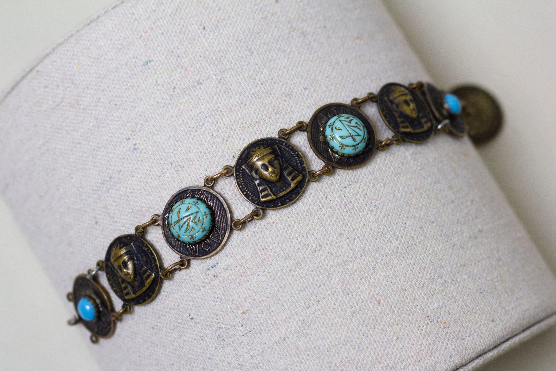 1920s-1930s Egyptian Revival Bracelet