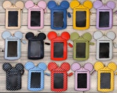 Mickey Minnie Mouse ID Holder - Credit Card - Fast Pass - Lanyard - Badge Holder - MANY CHOICES