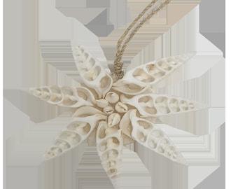 Vie Naturals Hand Made SeaShell Hanging Ornament Design 01
