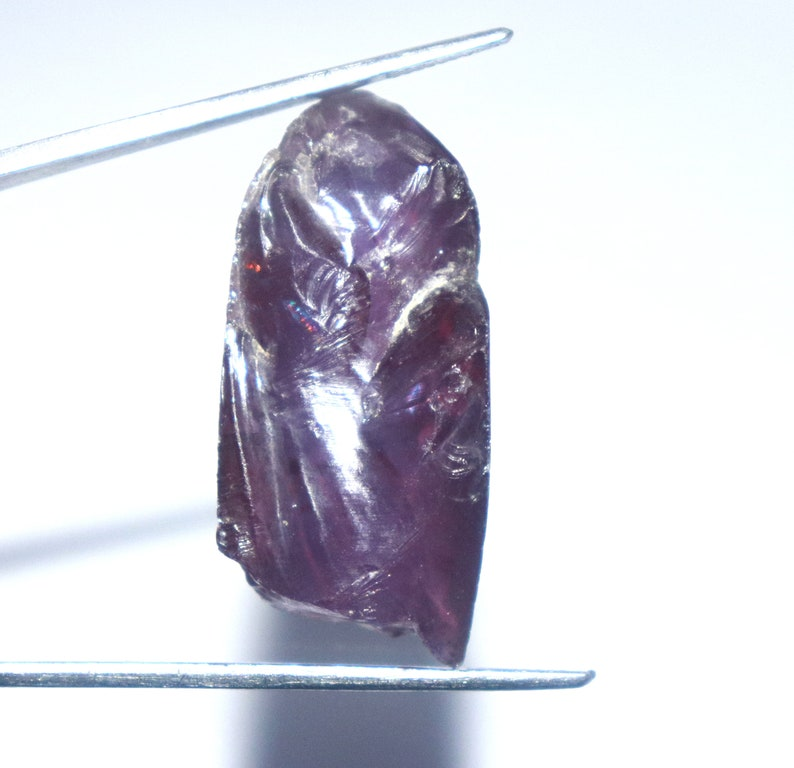 62.00 Ct Certified Natural UntreatedUnheated Uncut Shape Russian Alexandrite Rough Gemstone Use For Wrapping Pendent VF392