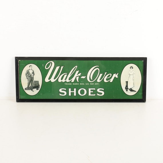 Vintage Walk-Over 17131B Longwing Blucher in Size… - image 10