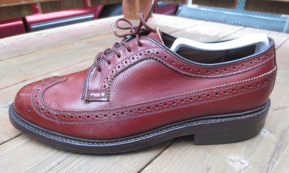 Vintage Walk-Over 17131B Longwing Blucher in Size… - image 4