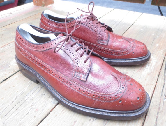 Vintage Walk-Over 17131B Longwing Blucher in Size… - image 3