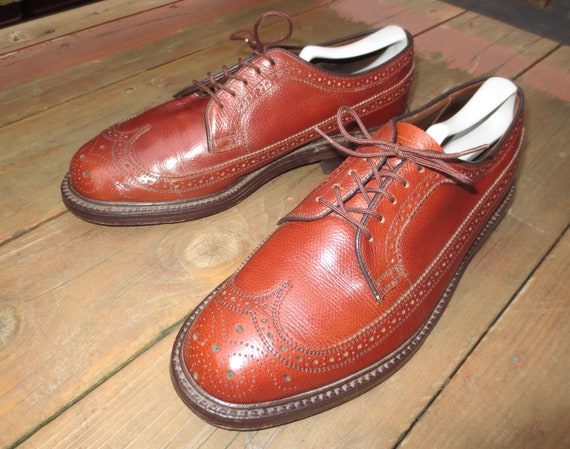 Vintage Walk-Over 17131B Longwing Blucher in Size… - image 1