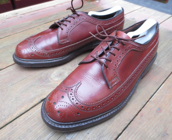 Vintage Walk-Over 17131B Longwing Blucher in Size… - image 2