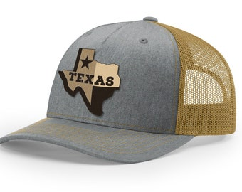 Texas Grey and Gold Classic Trucker Cap (Iconic Collection)  5741dbca4597