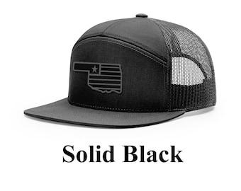 bacc9fe678b Oklahoma Black Flag Cap (Flagship Design)