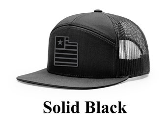 b5b39beb239 Utah Black Flag Cap (Flagship Design)