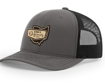 63fbe58a9ee Ohio Grey Classic Trucker Cap (Iconic Collection)