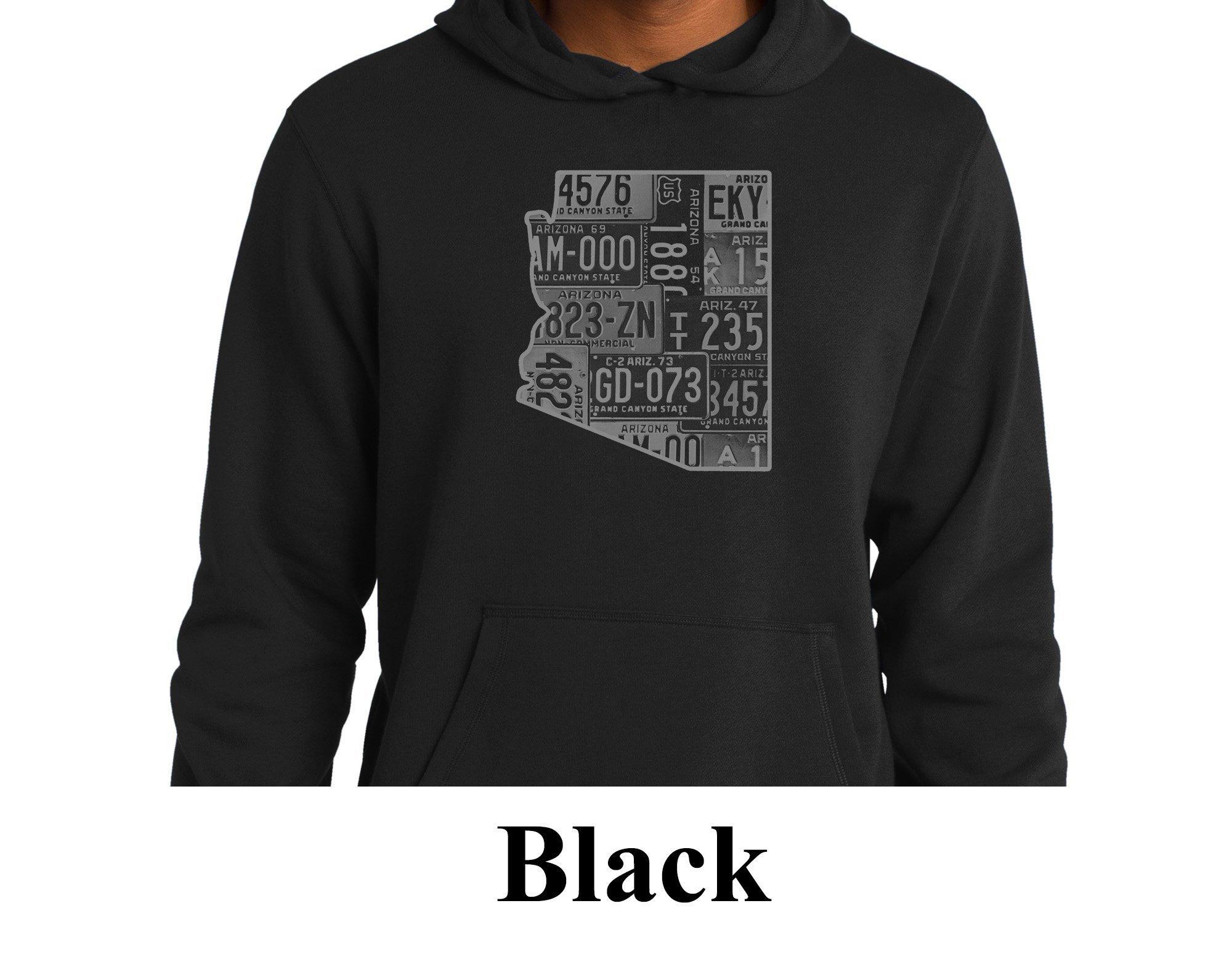 Noir Sweat à Arizona capuche Arizona à homme (Collection Vintage)   Pull   Salle de gym Hoodie   Hooded Sweatshirt   Sweat à capuche de mode   Cadeau pour lui a081b8