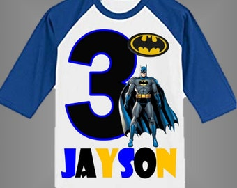 Batman Birthday Shirt Other Styles Available