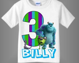 091ba8339 Monsters inc birthday | Etsy