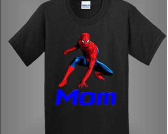 639c14d19cf Spiderman Mom Shirt