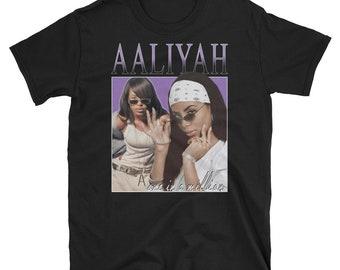 00d0676dd Aaliyah tshirt | Etsy