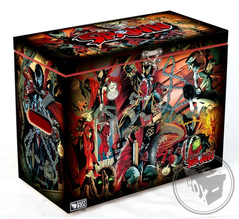 Large Comic Book Hard Box Chest MDF Star Wars