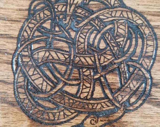 Gripping beast 7 die box, oak