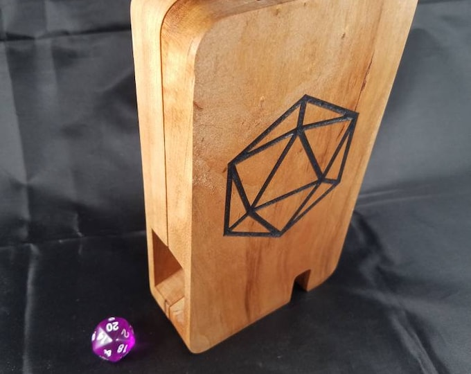 D20 rolling tower, cherry