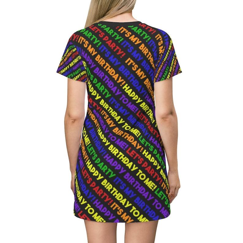 It/'s My Birthday T-Shirt Dress