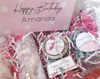 Happy Birthday Box For Bestie GiftsBirthday Best FriendCustom Gift Celebration Friend