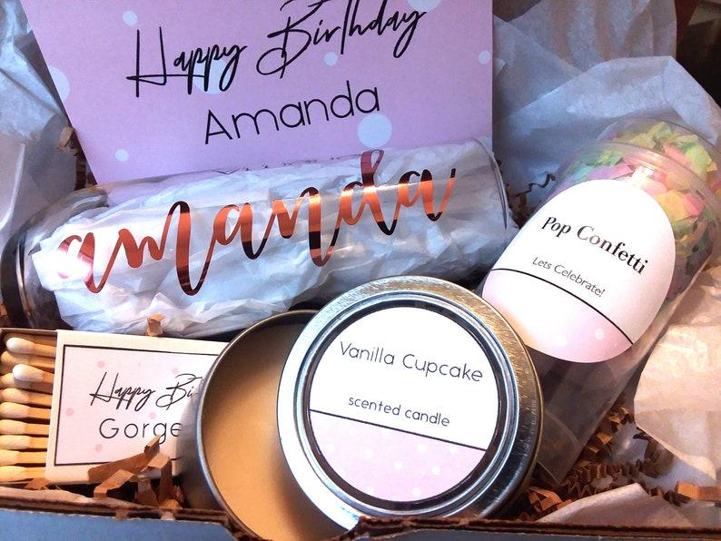 Happy Birthday Box Birthday For Bestie Happy Birthday Bestie Gifts Birthday Best Friend Custom Gift Box Celebration Gift Best Friend