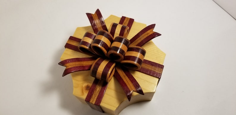 Wooden Bow Box