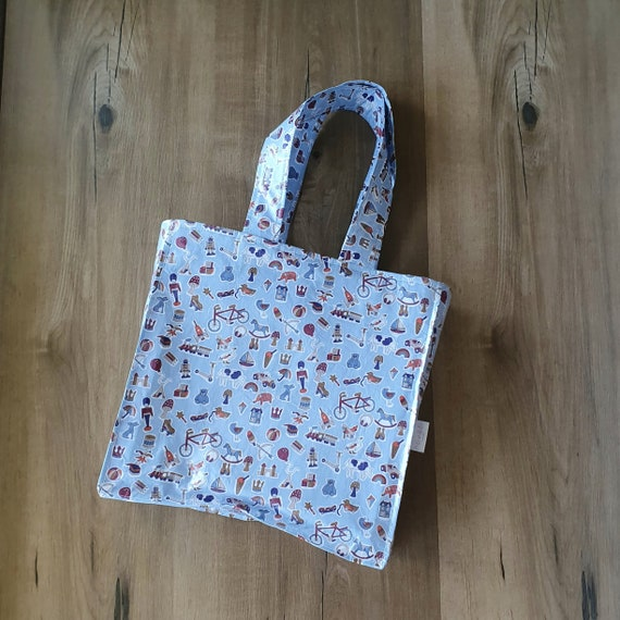 Boys Liberty Toy Bag, Tote Bag, Vinyl Coated,