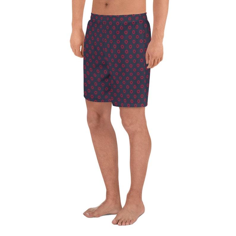 Classic Fishman Donuts Men/'s Athletic Long Shorts