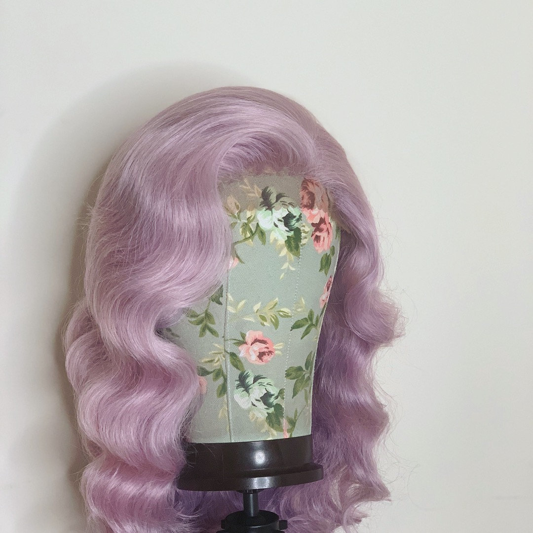 drag queen wig lacefront wig waves drag performer etsy