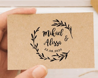 e5e9258fa5 Custom wedding stamp | Etsy