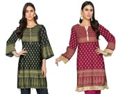 Salwar Kameez Stitched Readymade New Party Wear Suit Pakistani Indian Ethnic 2 Pcs