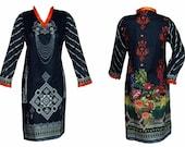 Women Kurti Kurta Cotton Digital Print Indian Tunic Tops Shirt Ethnic Indian Pakistani Dress From Sufia Fashions