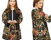 Sufia Fashions® Women Pakistani Dress Kurta Kurti Cotton Digital Print Tunic