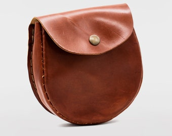 DIY Hip Pouch KIT | Make it leather | Learn leatherwork | how to make your own leather pouch | Age 9+ | saddle stitch