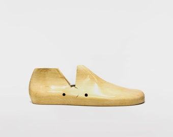 BESPOKE Hinged Wooden Shoe Last: Make your shoes to fit your feet (not the other way around) | Make your own shoes or let us do them for you