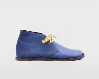 Barefoot Pals   Minimalist footwear   Desert Boots   Barefoot shoes   Nobuk   Handmade in England   Limited Edition