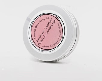 Leather Conditioner and Waterproofing Wax for Leather | Leather Care | Made in UK | Leather Poolish | Leather Care | Natural Wax and Oils