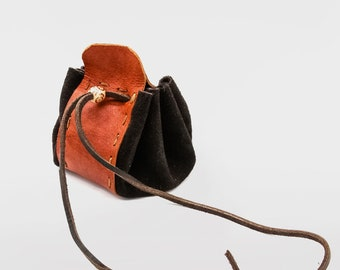 DIY Leather Medicine Pouch KIT | Make it leather | Learn leatherwork | how to make your own leather pouch | Age 6+