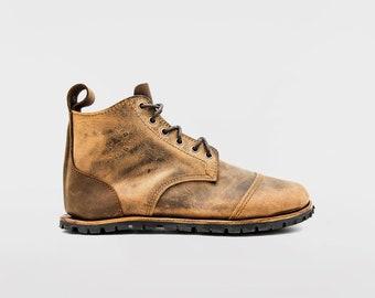 Barefoot Trekking Boots | Minimalist footwear | Barefoot shoes |  Hiking boots with barefoot feeling | flexible and wide toe box | Vibram