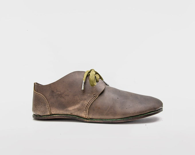Lets Dance! Barefoot Shoes | Veg tan Shell Cordovan leather tan by hand in Spain | Minimalist shoes | Handmade shoes | Earthing shoes