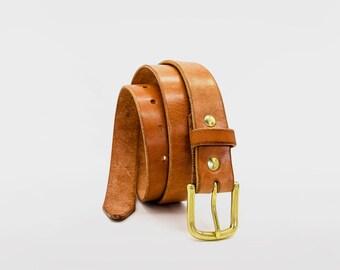 Director's cut Gaucho Ninja Leather Belt. 'Living museum' Veg Tan Leather, artisan heritage of Spain since 1887. Lifetime guaranteed