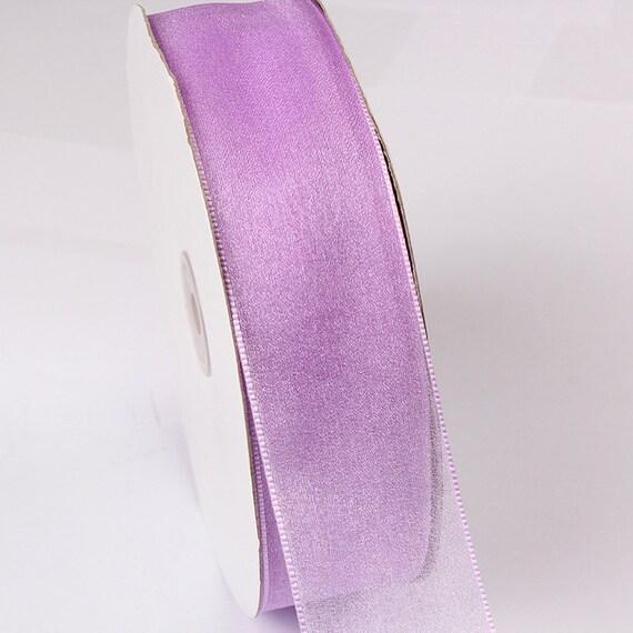 MingRibbon cadeau ruban % 100 % ruban Nylon Mesh transparent ruban 100 verges/rouleau d'emballage f731d0