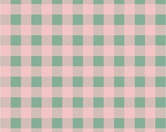 Home For Christmas-Gingham-Paint Brush Studio-Holiday-Winter-Angela Nickeas-100% Cotton-Quilting Cotton-21844-Cut to Size