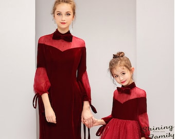 f7586aa1eff Mom and daughter matching outfits