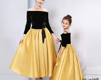 b82565ed053d Mother daughter matching dress