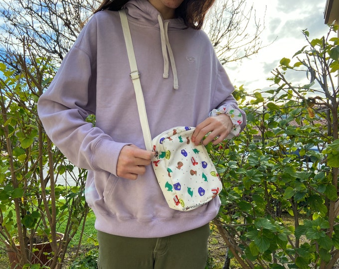 Featured listing image: MISPRINT Animal Crossing Cross Body Bag