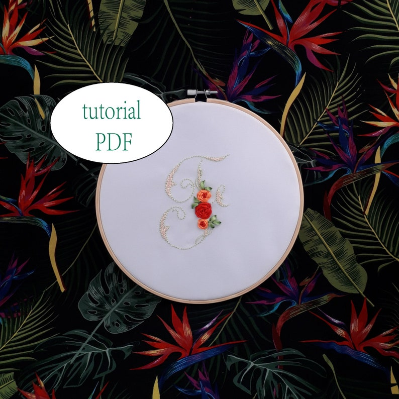Embroidery Stitches Tutorial Pdf