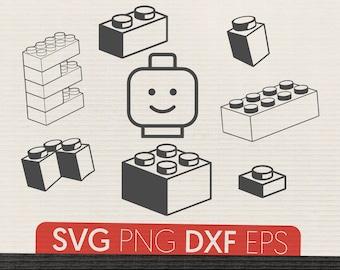 Download Lego svg | Etsy